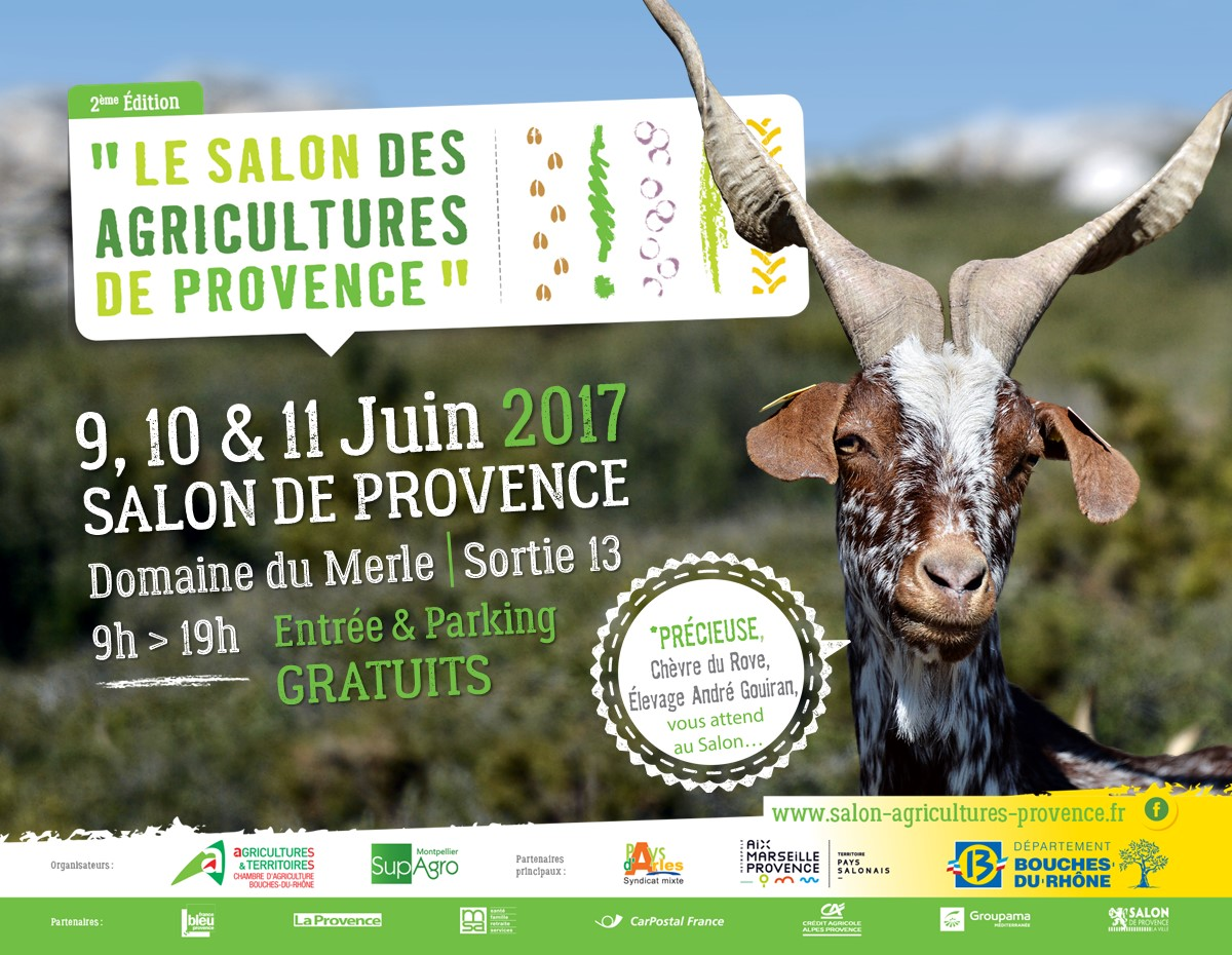 Le salon des agricultures de provence for Formation salon de provence